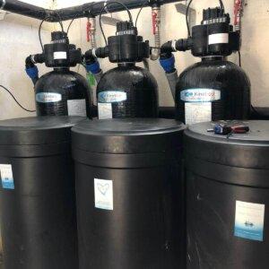 statii tratare si filtrare apa pentru municipalitati Kinetico SUA